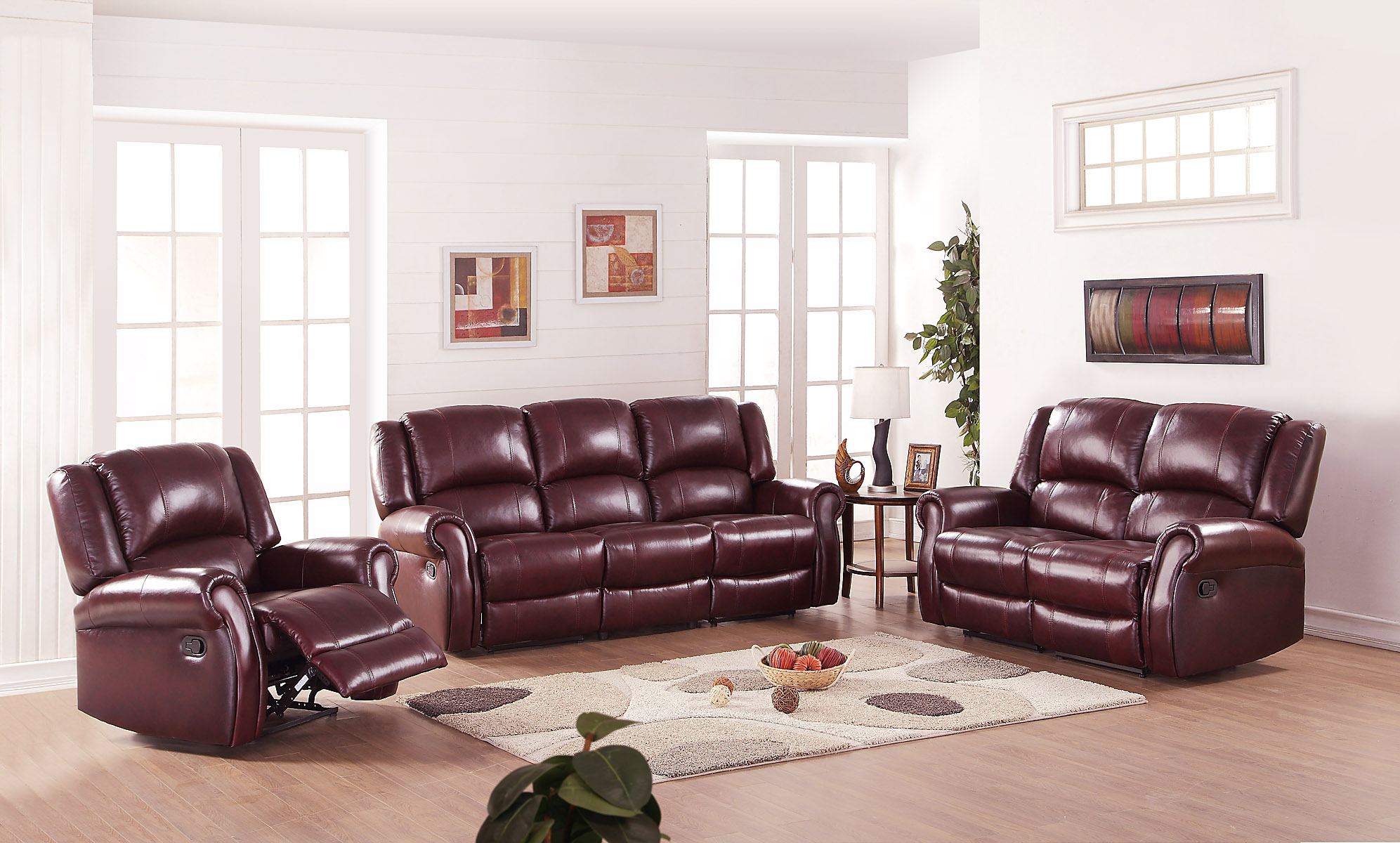 Leather Sofa Oscar Suite