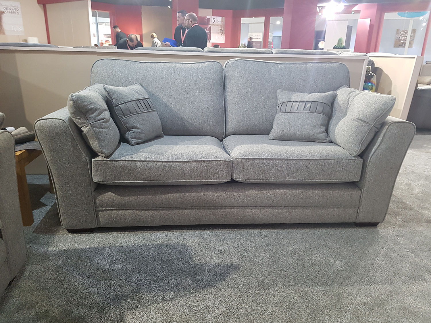 Fabric Sofa Darwen 3 Seater