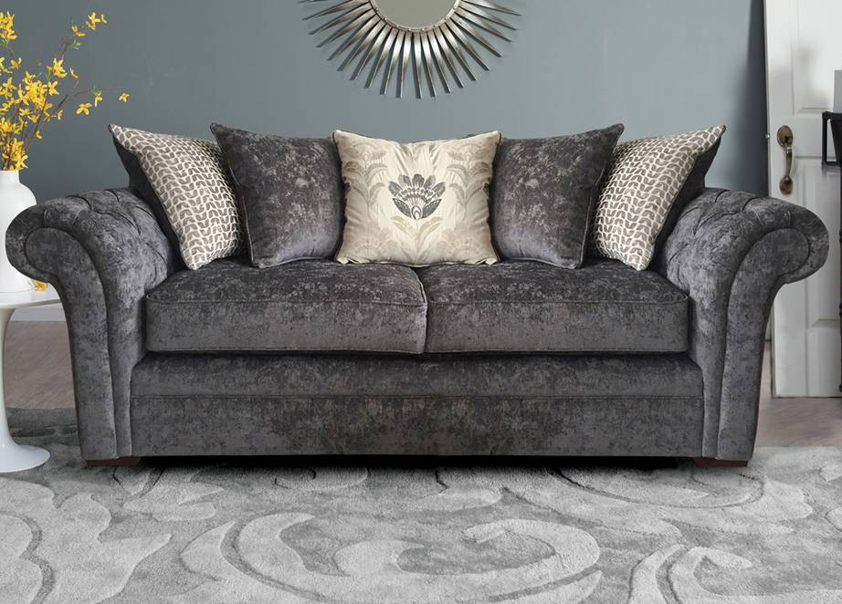 Fabric Sofa Worcester 3 Seater