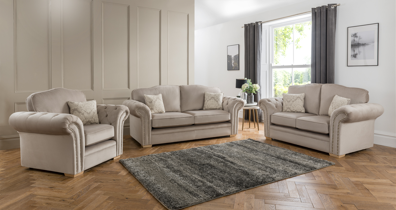 Fabric Sofa Ashford From Tcs Furniture Range Wide Range