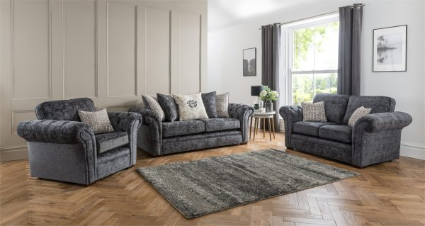Worcester fabric sofa