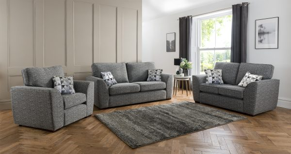 Coalville fabric sofa